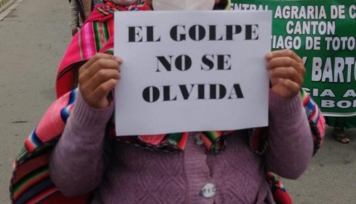 Il popolo boliviano reclama giustizia e sovranità